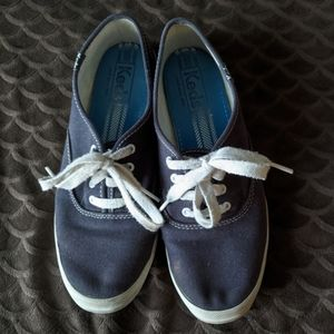 Blue lace up Keds sneakers size 7 ~EUC~